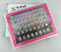 2 to 5 years kids toys - Y PAD English computer learning Machine new educational learning toys for kids
