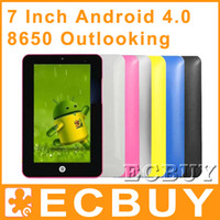 Wholesale Tablet PC upgrade inch Google Android Computer G WiFi
