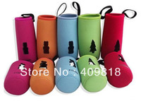 Wholesale Baby Milk Bottle bag Set Glass feeding Bottles Insulating Sheath baby gifts