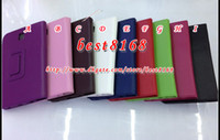 Wholesale New Leechee litchi luxury Leather stand holder case pouch book colorful fashion vertical cases cover for Samsung P3200 Galaxy tab table