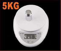 Wholesale 60pcs g g kg Digital Scale Kitchen Food Diet White LCD Display