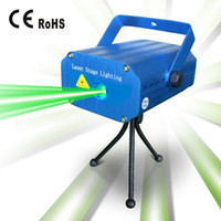 Wholesale 2013 Newest Mini Laser Stage Lighting mW Twinkling Mini Green amp Red Laser DJ Party Stage Light Lamps Lighting