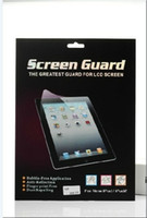 Wholesale High Quality For ipad screen protector Film Anti glare Screen and Scratching the screen