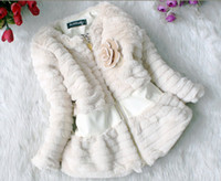 coat winter coat - New Winter Girls Baby Fur Coats Leopard Inside Long Sleeve Children Coat Kids Winter Coats colors
