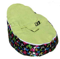 Wholesale Lime seat baby bean bag chair butterfly design doomoo beanbags sofa bed kid sleeping pod