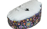 Wholesale Colored dots bean bag chair baby sleeping beanbag sofa bed doomoo seat