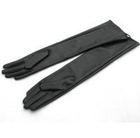 Wholesale 2013 Female women s leather gloves over the elbow PU glove fashion ladies long gloves LGPU001
