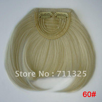 Wholesale clip in bangs Front Fringe Neat Hair Extensions