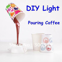 Wholesale H001 Novelty DIY LED Night Lamp Table Home Decoration Romantic Coffee Usb Or Battery Promotion Gifts