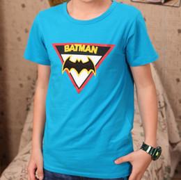Wholesale Kids T shirt boy Older children T shirt Korean knitted short sleeved embroidered cotton T shirt