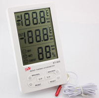 Wholesale In Door Outdoor Thermometer With Hygrometer KT905