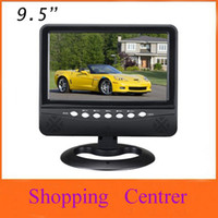 Wholesale inch TFT LCD color Analog TV with wide view angle Support SD MMC Card USB Flash disk