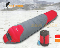 Wholesale Hot Sale Brand Searock Winter degrees Duck Down Sleeping Bag Camping mummy sleeping bag