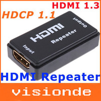 Wholesale Mini HDMI Repeater Extender HDMI Amplifier Booster FT M p G bps wxd518