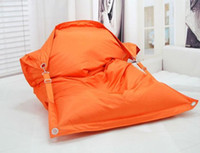 Wholesale FASHION ORANGE The original outdoor buggle up bean bags waterproof beanbag sofa chair