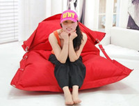 Wholesale RED The original outdoor and indoor buggle up bean bags large pillow beanbag cushion