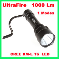 Wholesale Ultrafire Cree XM L T6 scope mount lamping lamp kit hunting gun air rifle light Modes