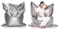Wholesale Large Original Metahlowski Silver Bean Bag cm in big size lazy chair big cushion beanbags outdoor sofa