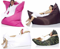 Wholesale Large Original colors bean Bag pink coffee camo white cm in big size lazy chair big cushion beanbags outdoor sofa