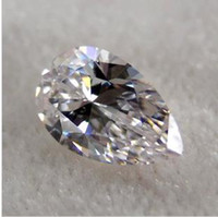 Wholesale Loose diamonds pear shaped diamond