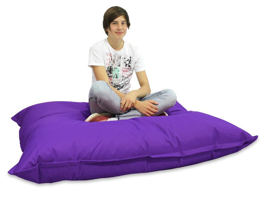 2017 Purple Cushion Pillow Beanbags From