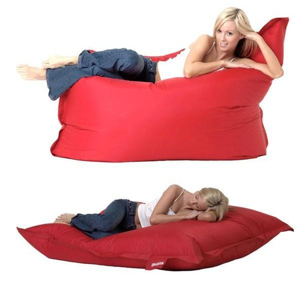 2017 Big CushionLarge Beanbag Chair Red Living Room Seat