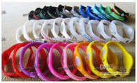 Wholesale 100pcs Balance Bracelet Silicone Wristband Energy Bands with Latest Retail Packaging