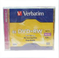 4.7GB dvd rw discs - rewritable DVD RW blank recordable disc Verbatim Blank DVD Discs GB X DVD RW discs Piece The world s best selling steve2050