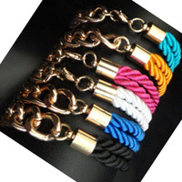 Wholesale Braid Chain Link Bracelets NEW Summer Hot Selling bracelets T13041902