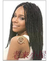 Wholesale The Jamaican rock hip hop dreadlocks African wig