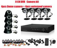 Wholesale High quality CH H Surveillance DVR Day Night Security Camera CCTV System H031