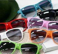 Resin Lenses promotion sunglasses - 2013 Sales Promotion Fashion Sunglasses Candy colors Men and Women general sun glasses tide glasses Multi color sunglasses