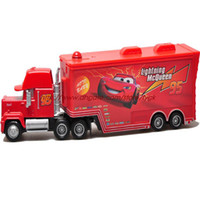 Wholesale Racing Cars Uncle Jimmy container truck toy car model McQueen McQueen road tyrants King of Cars color