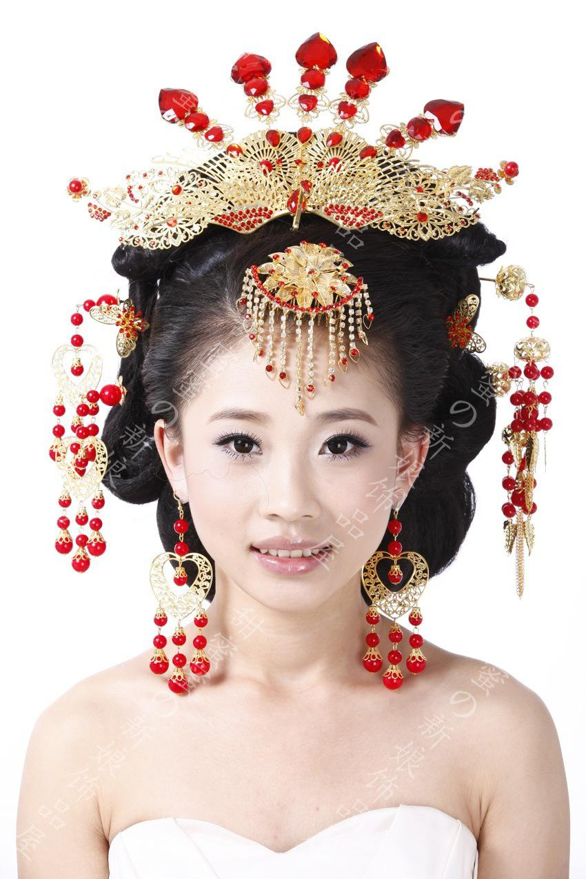 2017 Coronet Costume Hanfu Bride Hair Accessory Chinese