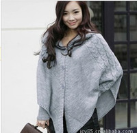 Wholesale Womens fashion Autumn Winter Ponchos Outerwear Parka