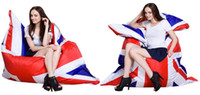 Living Room Sofas bean bag chairs for adults - English flag bean bag chair union jack adults beanbag sofa seat can be used for outdoor amp indoor