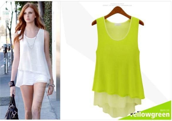 Bella- Womens Fashion- Tank Top- 98/2 Cotton-Spandex -8711 kids
