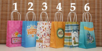 paper bags - Happy Birthday Bags x13x8cm Paper Gift Bags Kraft Paper Bags Paper Bags