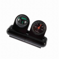 Wholesale New in Stand Compass Ball Thermometer For Vehicle Car Boat Truck Avigation Tool