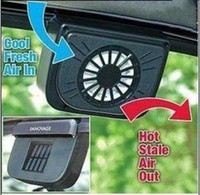 Wholesale Pieces High Quality Solar Power Car Auto Cool Air Vent With Rubber Stripping Car Ventilation Fan