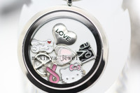 Cheap glass locket Best floating charms locket
