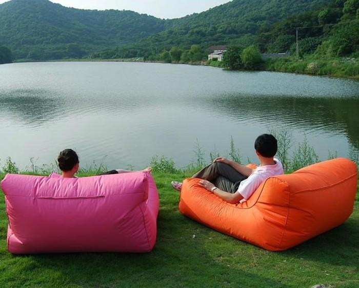 extra wide summer bean bag chair swimming beanbag sofas large pillow sitting chair pool side. Black Bedroom Furniture Sets. Home Design Ideas