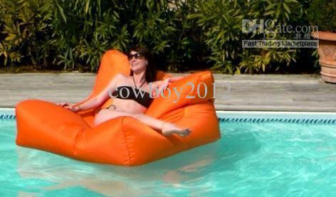 2017 extra wide 2 seat bean bag floating chair summer beanbags high quality water pool side. Black Bedroom Furniture Sets. Home Design Ideas
