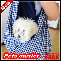 Wholesale Hot Dog Janpanese style cotton pets carriers Dog Carriers pet bags Freeshipping