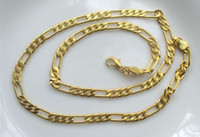 Wholesale Brand new fashion inch K gold plated design men s necklace chain jewellery
