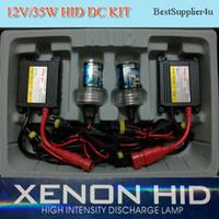 al por mayor digitales hidballast delgada-35W Kit HID H1 H3 H7 H8 H1 9005 9006 4300K 6000K 8000K bulbo único de alta calidad Digital Slim Lastre