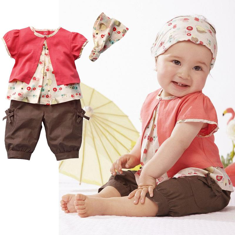 Cute Clothes For Babies Baby Girls Summer Baby Girl Suit Cute
