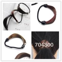 Asian Wigs fashion hair circle - Plaits Circle Manual Twist Rubber Korean Fashion Hair bands Ponytail holder Holders hair accessories