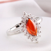 Asian & East Indian Women's Party CZ Ring Fashion Jewelry workmanship three color free shipping MB-66B028