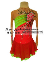 Wholesale hot sales Ice Skating Dress Beautiful Figure New Brand vogue Ice Dress Competition customize A1007